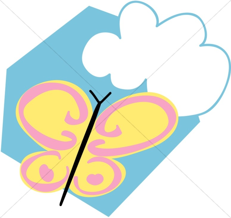 Fanciful Springtime Butterfly
