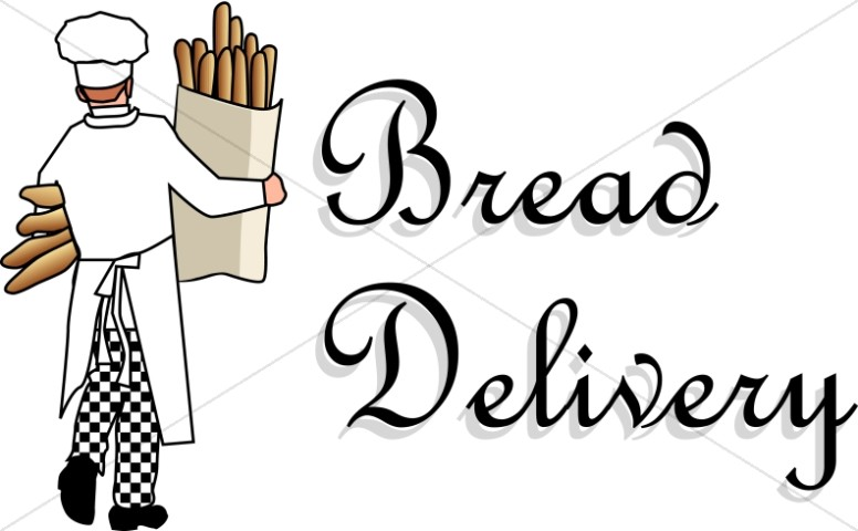 Baker Makes Bread Delivery