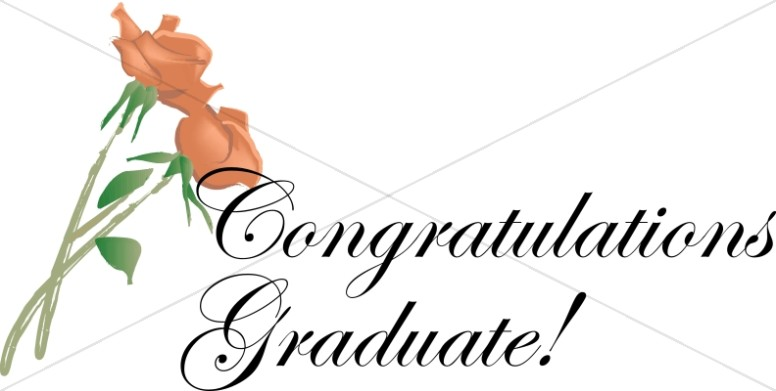 congratulations flowers christian graduation clipart and images rh sharefaith com congratulations on your graduation clip art congratulations graduate 2017 clip art