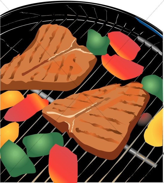 Tasty Looking Steaks on the Grill