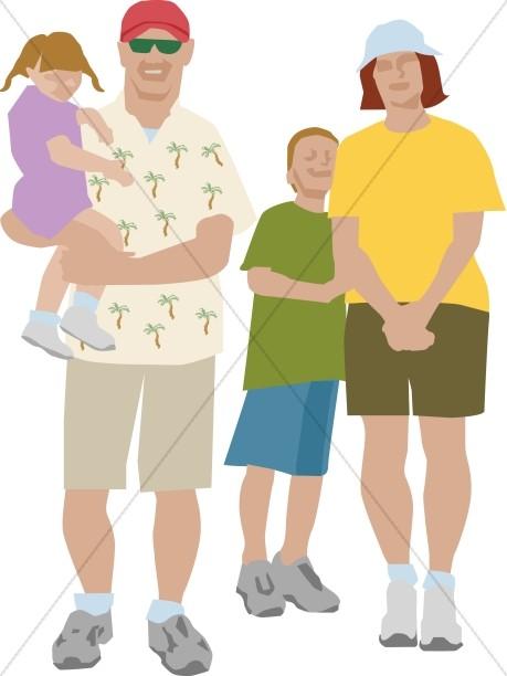 Summertime Family Image