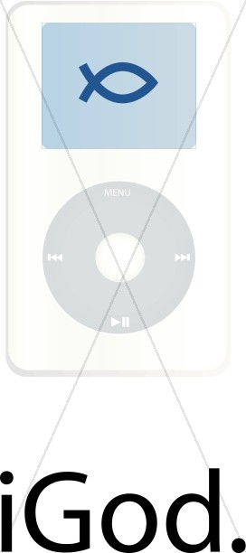 Ichthus on iPod Screen