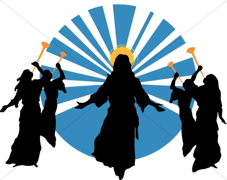 Second Coming Christian Clipart