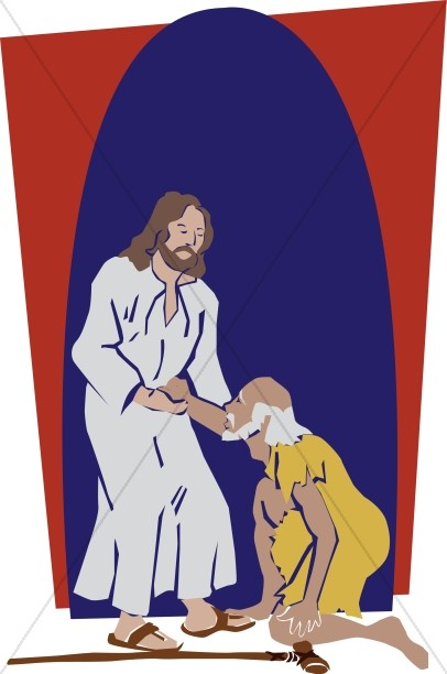 clipart of jesus healing - photo #23