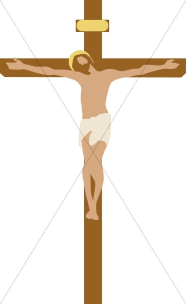 The Crucifixion Cross | Good Friday Clipart