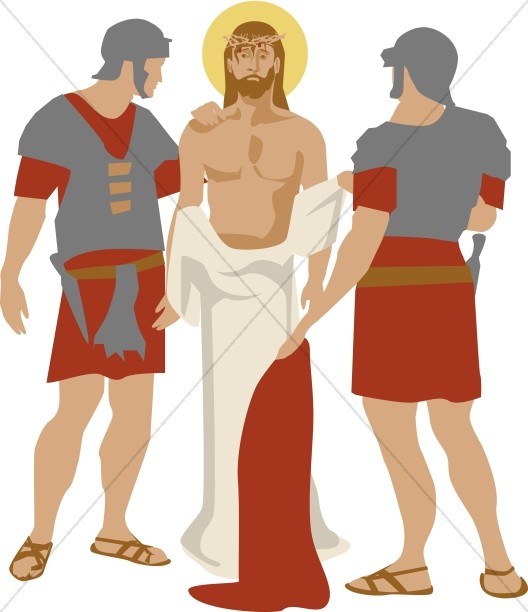 Jesus is Betrayed by Judas | Easter Clipart