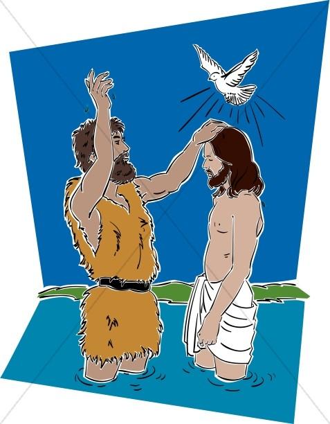 Jesus with John the Baptist
