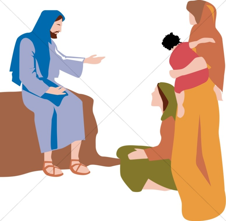 Jesus Teaches Women