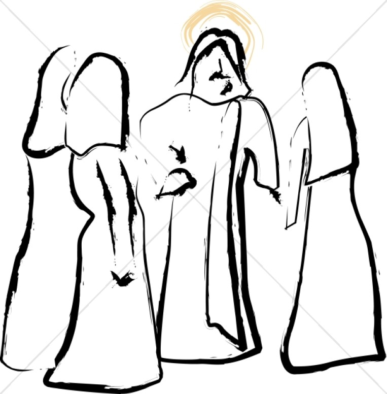 Jesus Speaks with Women