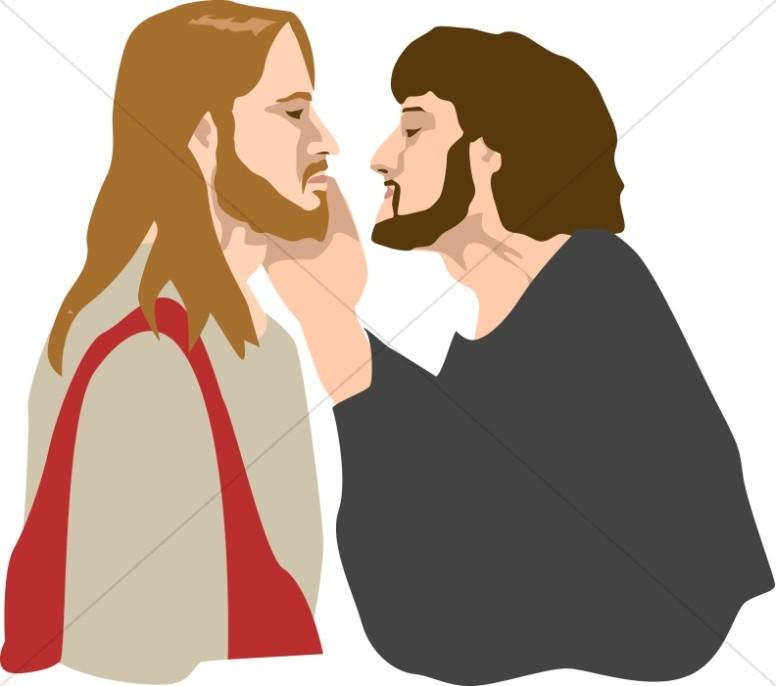 Jesus is Betrayed by Judas