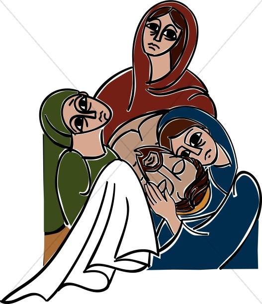 Three Women Weeping for the Messiah
