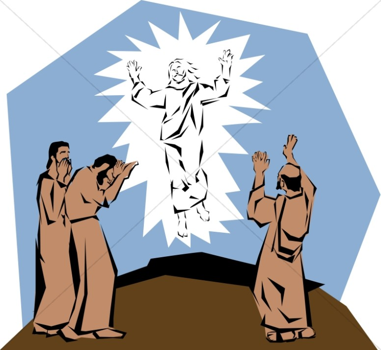 Transfiguration with Apostles