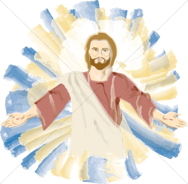 Transfiguration of Jesus Portrait