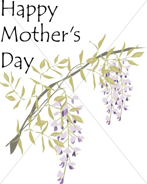 Happy Mother's Day Wisteria