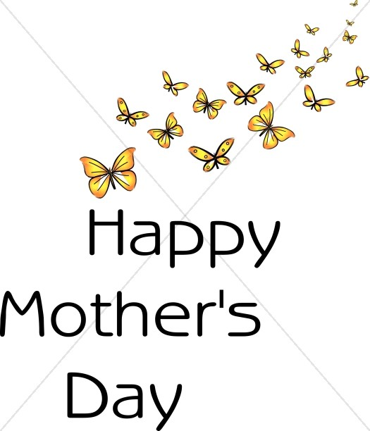 Bunch of Butterflies Mother's Day Wish