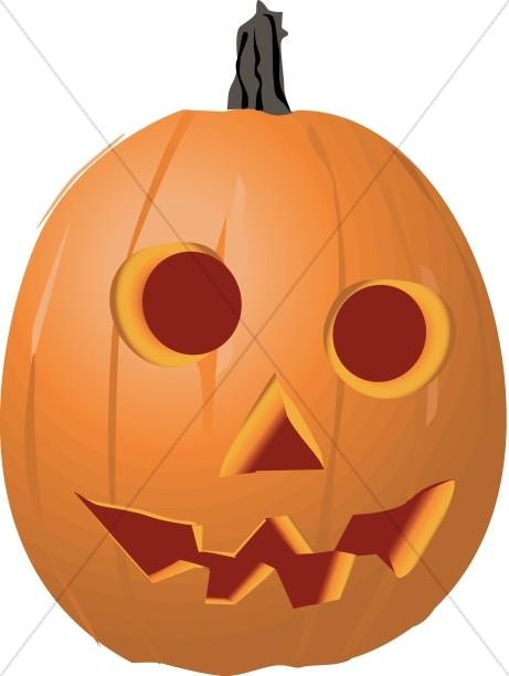 Goofy Jack o' Lantern for Halloween