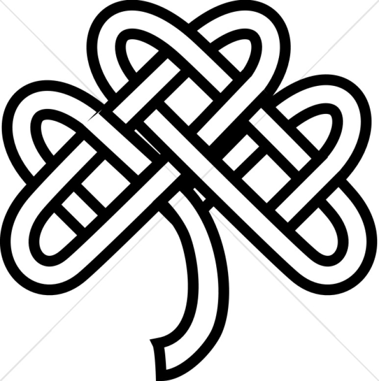 f1310412aaCeltic Knot Shamrock
