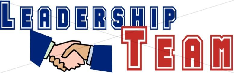Leadership Team with Handshake
