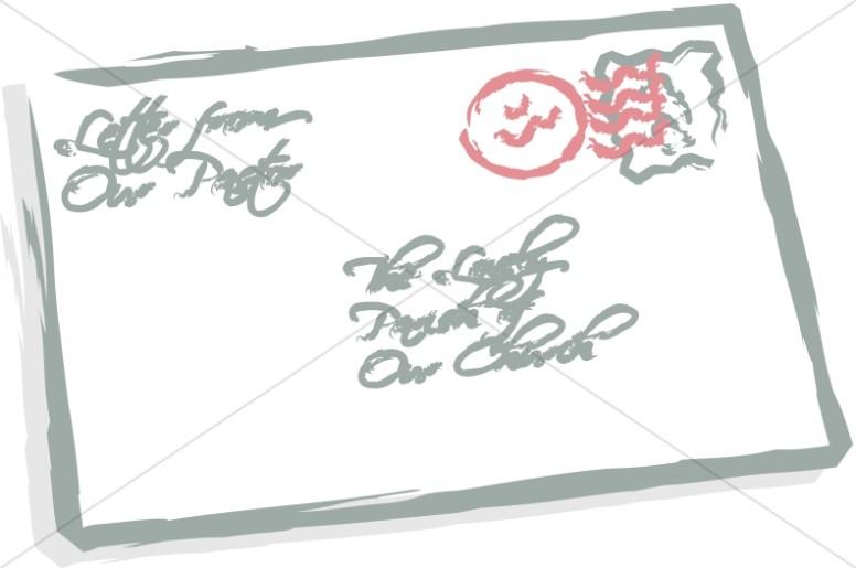 Stylized Letter Envelope