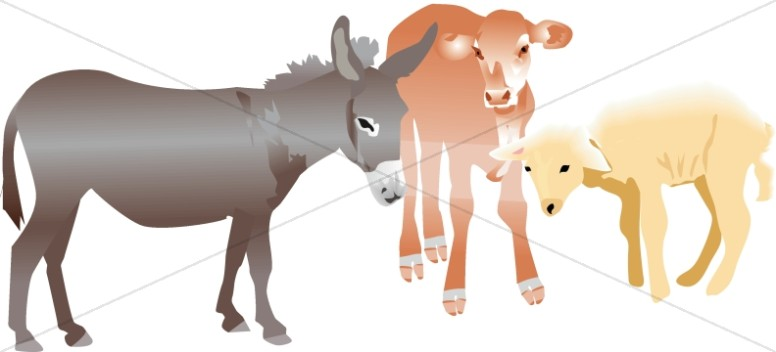 Nativity Stable Animals