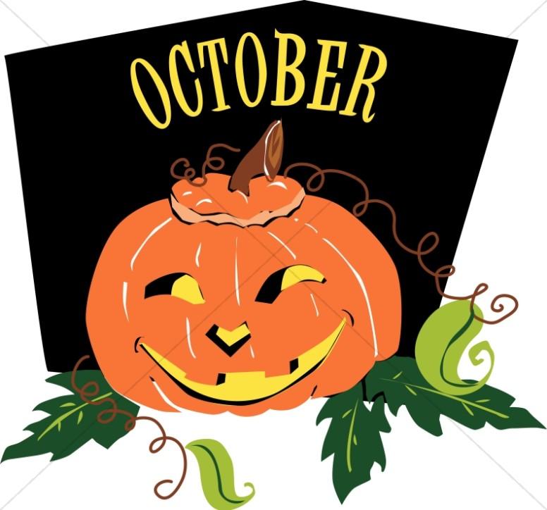 Jack o Lantern in October