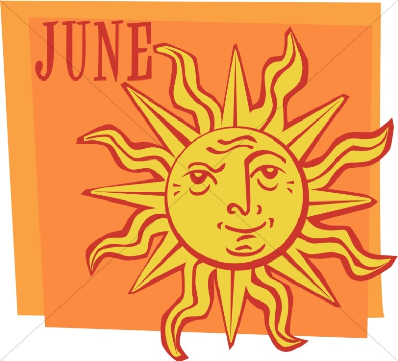 Sunny Face in June