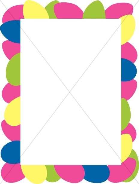 Easter Borders, Easter Border Clipart, Holy Week Borders - Sharefaith