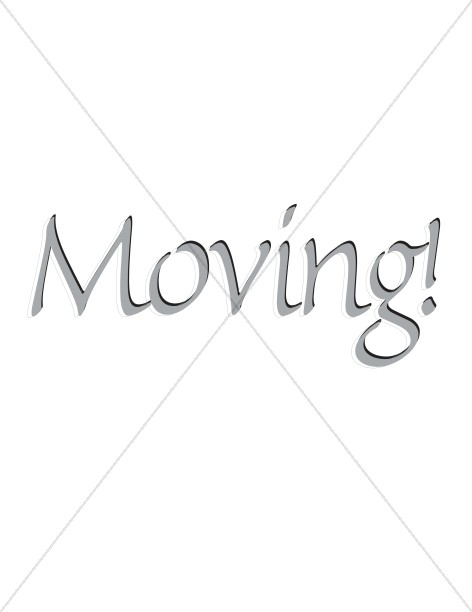 Moving Sign