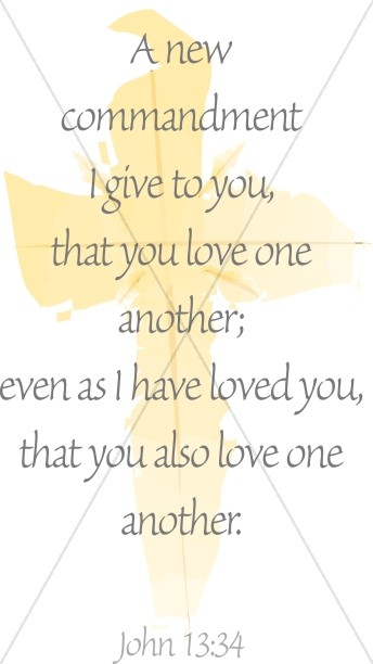Love One Another Quote from John