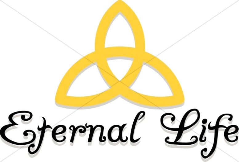 Celtic Trinity Eternal Life Trinity Clipart