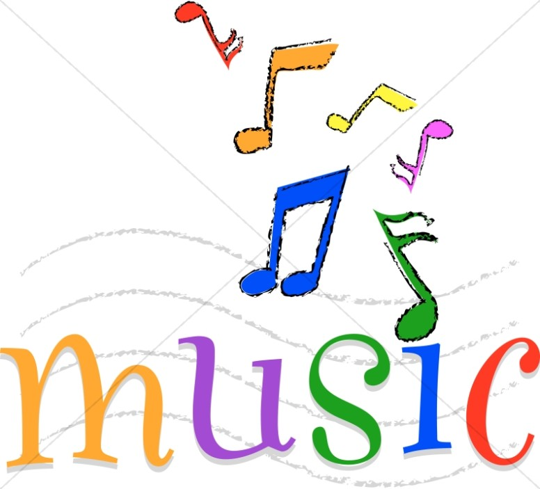 colorful happy music church music clipart rh sharefaith com music staff clipart images music staff clipart images