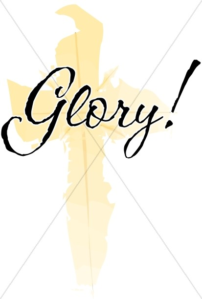 Glory with Gold Cross