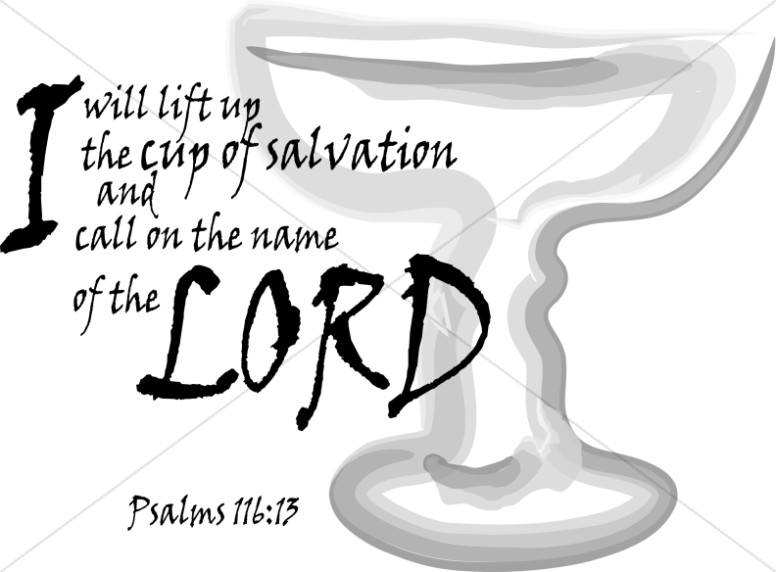 Psalms 116:13 with Cup