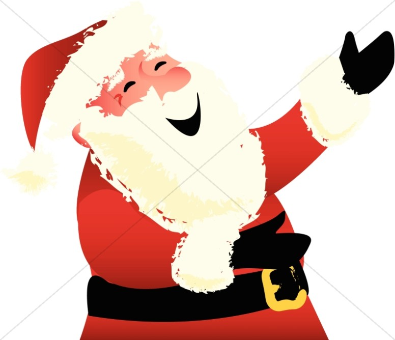 Santa Claus Ho Ho Hoing