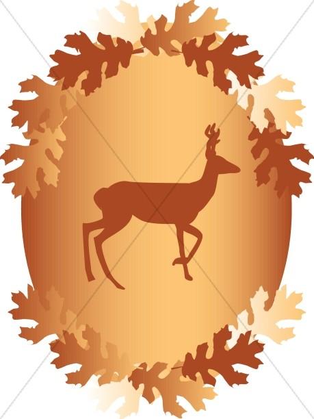 Stag Forest Emblem