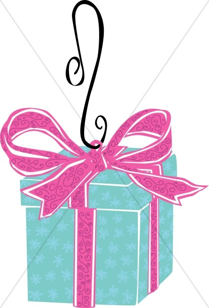 Gift Box Ornament