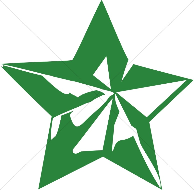 Green Star Decoration