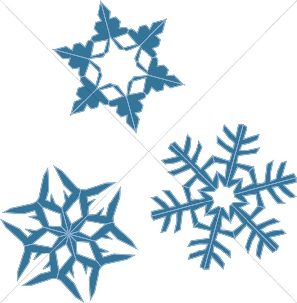 blue snowflake assortment snowflake images rh sharefaith com
