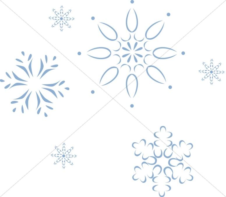 December Snowflake Designs