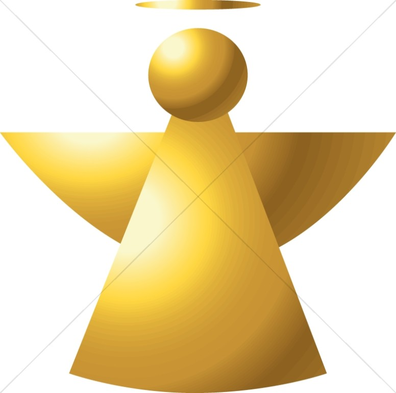 Angel in 3D Shapes