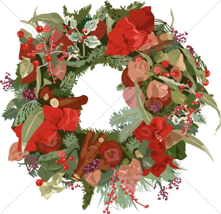 Fancy Christmas Wreath