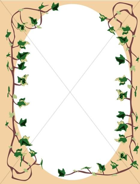 Ivy on the Vine Full Frame