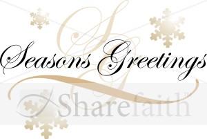 Formal seasons greetings text on snowflakes traditional christmas formal seasons greetings text on snowflakes traditional christmas decoration clipart m4hsunfo