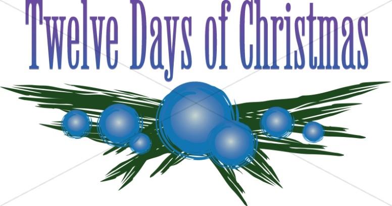 Twelve Days of Christmas Berry Branch