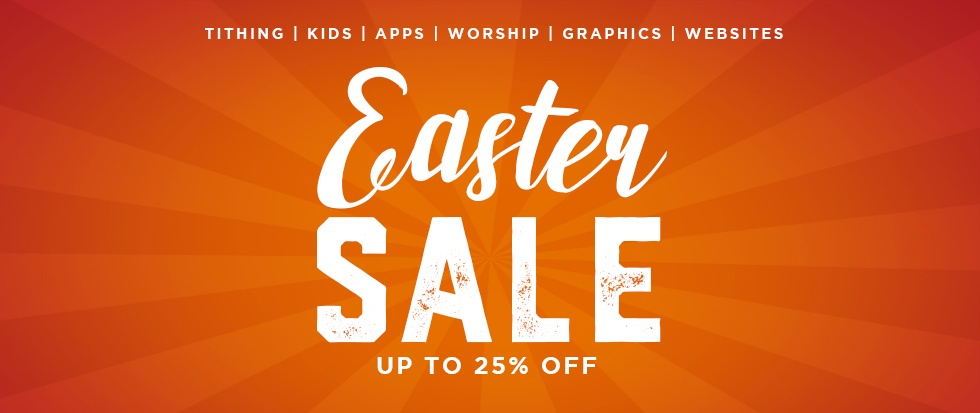 Easter Sale - Save Up To 25%