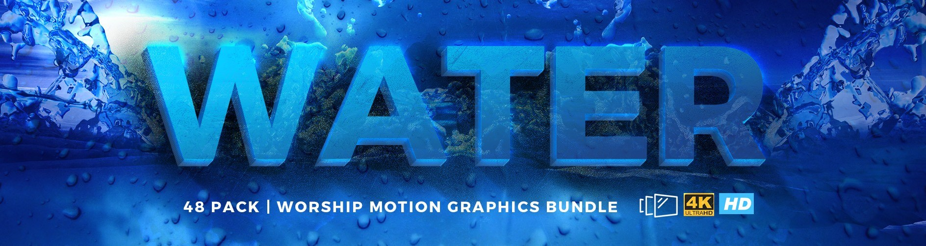 Water Background Church Motion Graphics | Sharefaith