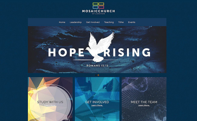 Church Website Design Church Websites...