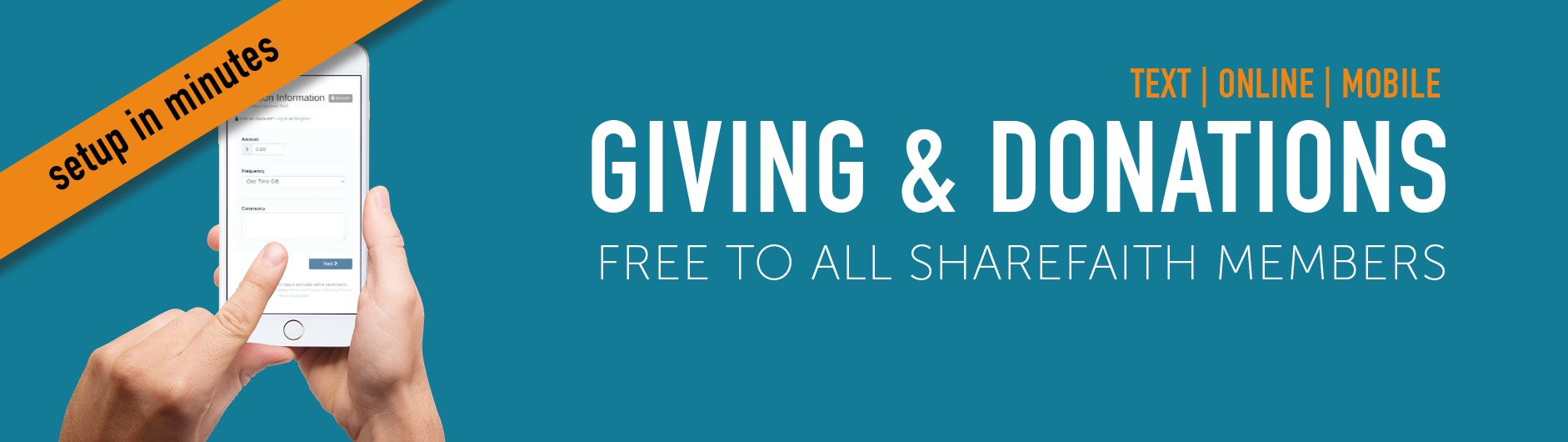 Online Mobile Giving and Donations for Church