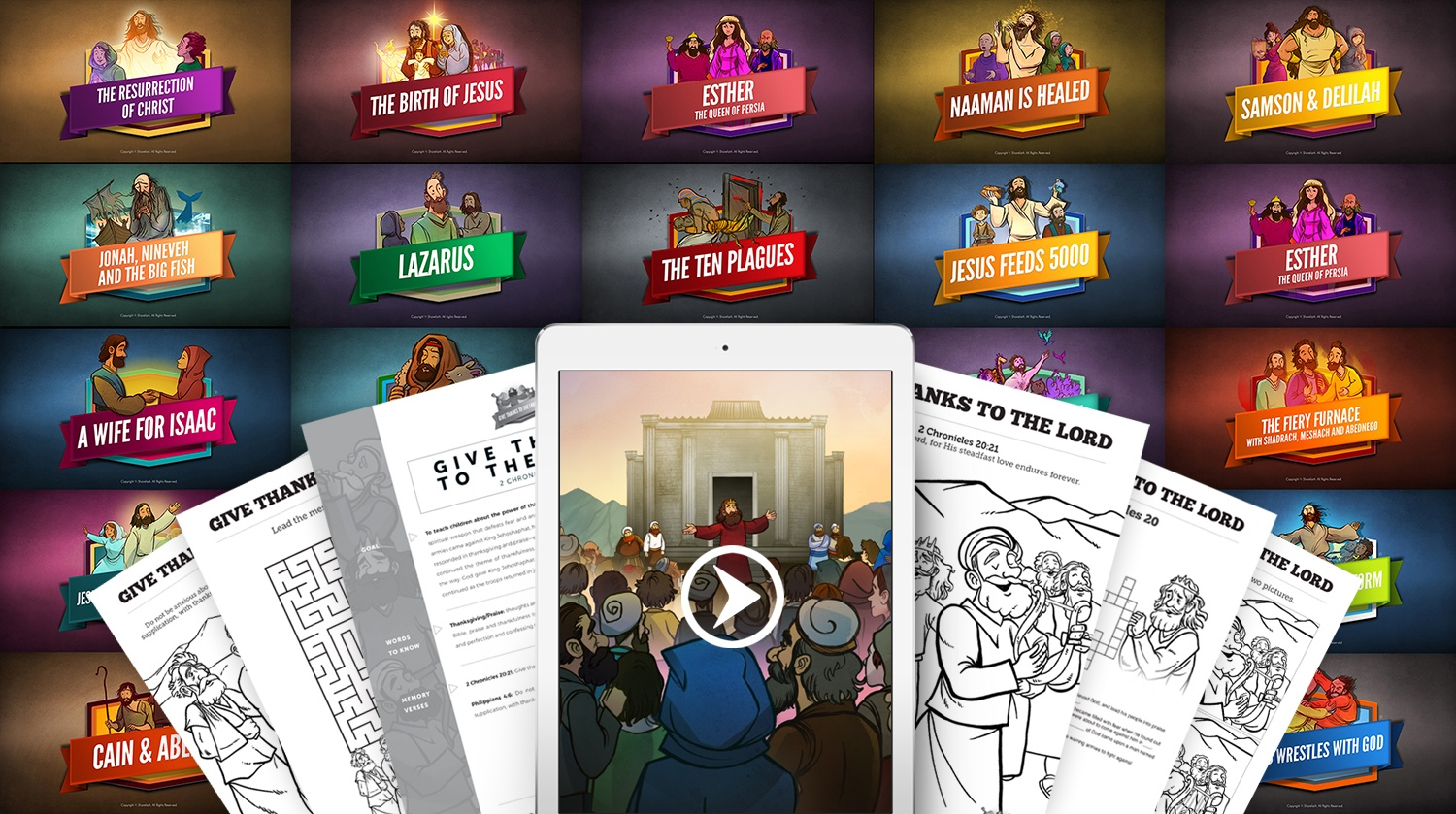 Sunday School Lessons, Videos & Downloads by ShareFaith.com