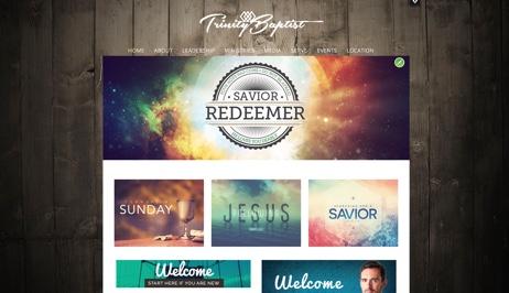 create church website free